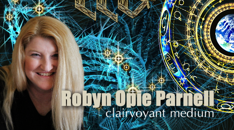 Robyn Opie Parnell is a clairvoyant medium based in Adelaide, South Australia.